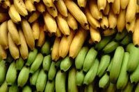 Yellow And Green Banana