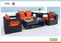 Outdoor Rattan Wicker Sofa Set