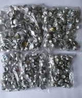 Round Metal Mould Button