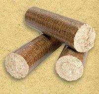 Wood Chip Briquette