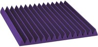 Purple Colour Wedge Acoustic Foam Tile 3' X 3'