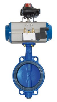 Rotary Actuator Double And Single Acting Ball And Butterfly Valves