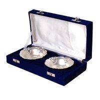 German Silver 2 Bowl Set