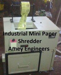 Industrial Mini Paper Shredder