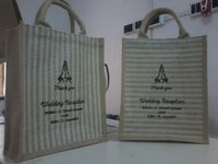Jute Bags With Stripes Design in Ahmedabad