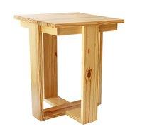 Smalshop Pine Wood Bedside Table