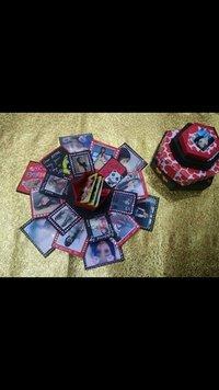 Handmade Hexagonal Love Explosion Box