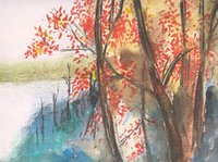 Water Color Nature Painting
