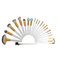 Wooden Handle Makeup Brush Set