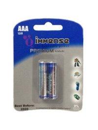 Lr03 Aaa Alkaline Premium 1.5v Battery Card