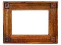 Seasoned Teak Wood Mirror Frames