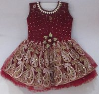 Coca Cola Embroidered Frock