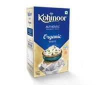 Kohinoor Organic White Authentic Basmati Rice