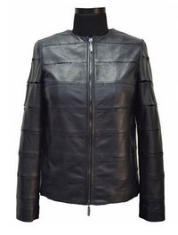 Ladies Black Leather Jackets