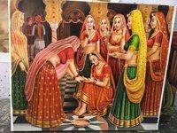 Handmade Canvas Oil Paintings