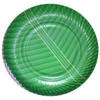 Disposable Green Paper Plate