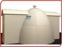 Frp Dome Type Shelter