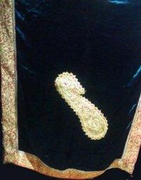 Ladies Fancy Black Color Shawl