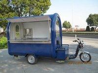 Electric Rickshaw Food Cart