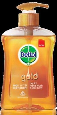 Gold Liquid Hand Wash Classic Clean (Dettol)