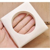 Light Weight Square Wooden Bangle