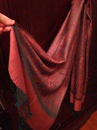 Silk And Pashmina Shawl