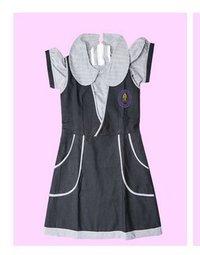 Girls School Uniform Frock