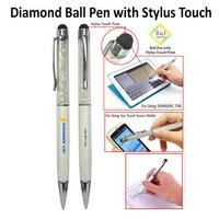 Diamond Ball Pen With Stylus Touch