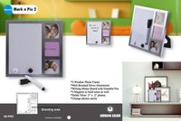 Memories Marknpix Two Aluminum Photo Frames With Whiteboard