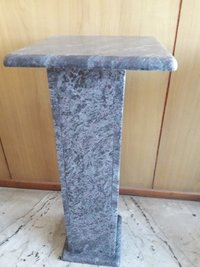 Smooth Finish Blue Granite Table