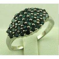 Extremely Elegant Colored Diamond Ring