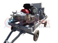 1000 Bar High Pressure Water Blasting Machines 15k Psi