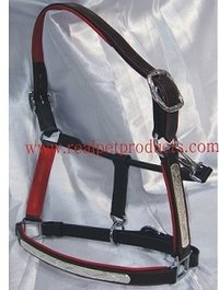 Modern Leather Halter