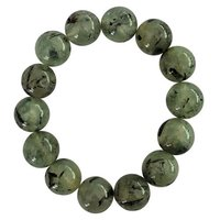 Prehnite Gemstone Stretch Bracelet