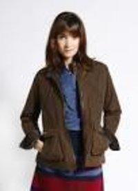 Fashionable Ladies Canvas Jackets