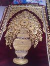 Zari Flower Pot Carpet