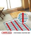 Dual Core Under Floor Heating Mat With Ptfe Insulation
