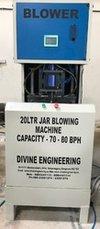 20 Ltr Pet Jar Blowing Machine