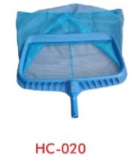 Heavy Duty Plastic Leaf Skimmer with Blue Wearing Mesh