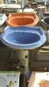 Fancy Coloured Wash Basin