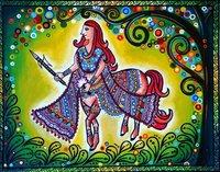 Original Designer Madhubani Painting