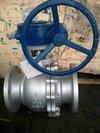 Cast Steel Trunnion Mounted Ball Valve in Shanghai