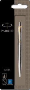 Parker Jotter Stainless Steel Gt Ball Pen (Chrome) Fine Nib