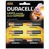 Aaa Lr03 Alkaline Batteries (Duracell)