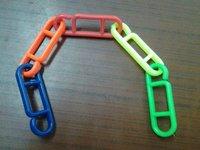 Colorful Adjustable Plastic Chain