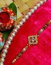 Fancy Handmade Stone Rakhi