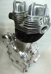 Royal Enfield Restored Bike Engine