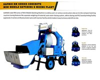Mini Mobile Concrete Batching And Mixing Plant