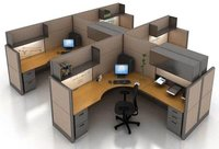 Cubicle Office Modular Workstation