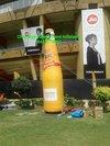 Customized Promotional Inflatable Bottle
